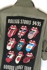 SoJara SoJara Rolling Stones Vintage Military Jacket