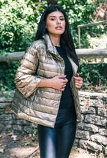 Anorak Anorak Crop Sleeve Puffer Jacket