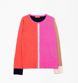 VilaGallo VilaGallo Sybelle Colorblock Knit Sweater