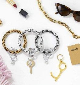 Big O Key Rings / Oventure Big O Printed Silicone Key Rings