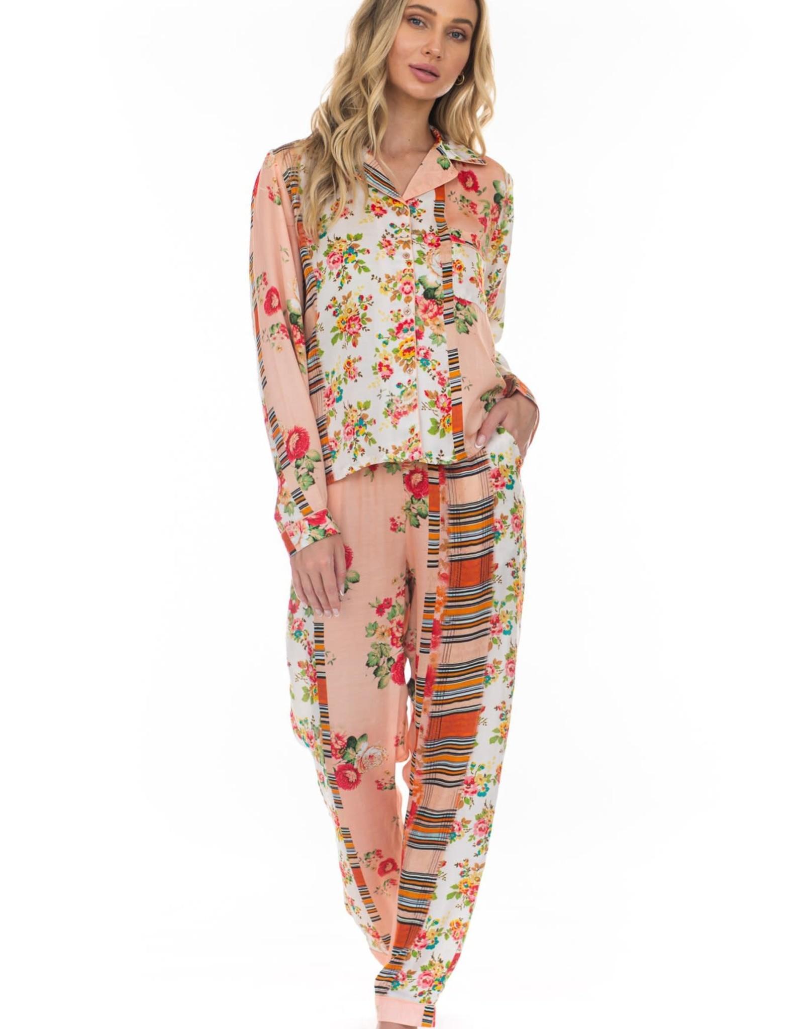 Tolani Tolani Floral Pajama Set