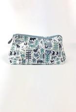 Roller Rabbit Roller Rabbit Nordic Folk Large Make Up Bag