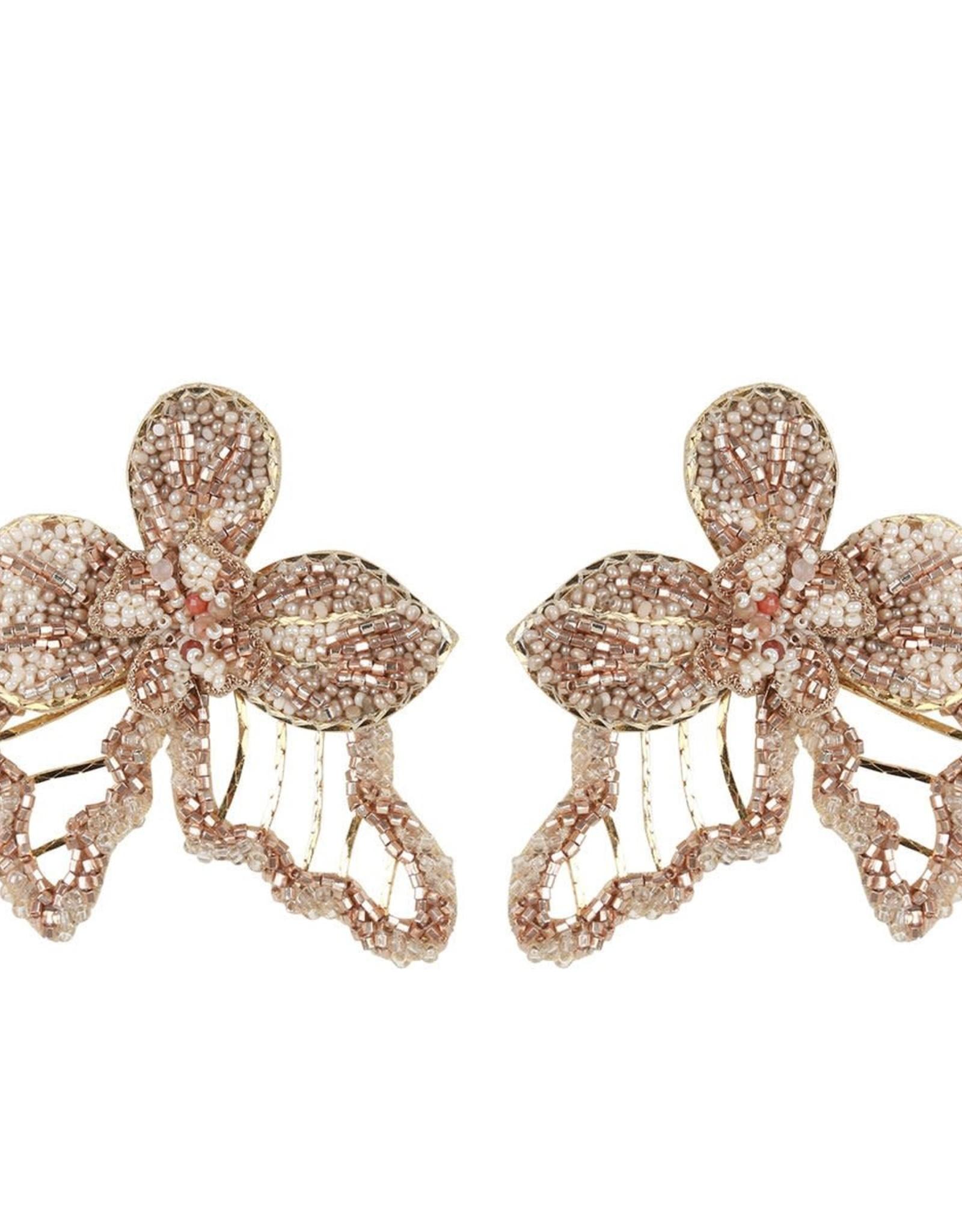 Deepa Gurnani Deepa Gurnani Vicki Earrings CLIP ON Gold