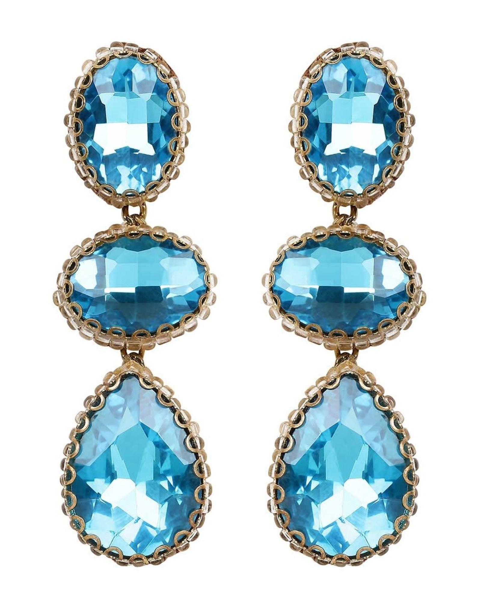 Deepa Gurnani Deepa Gurnani Hadlee Crystal Drop Earrings