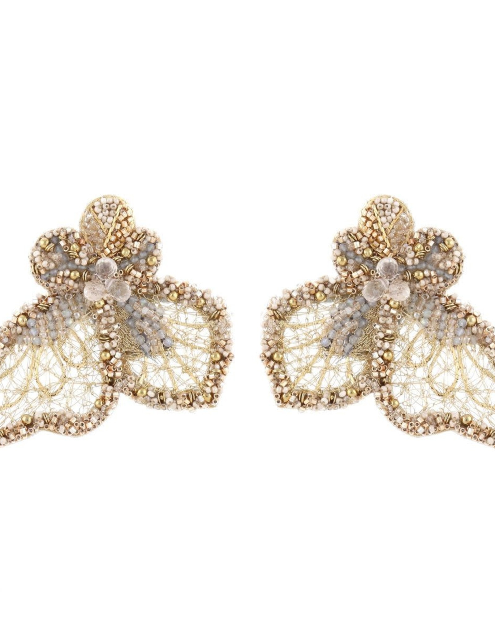 Deepa Gurnani Deepa Gurnani Clare Earrings CLIP-ON