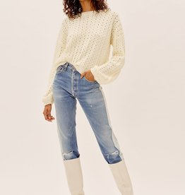 For Love and Lemons For Love and Lemons Dawn Hi Low Sweater