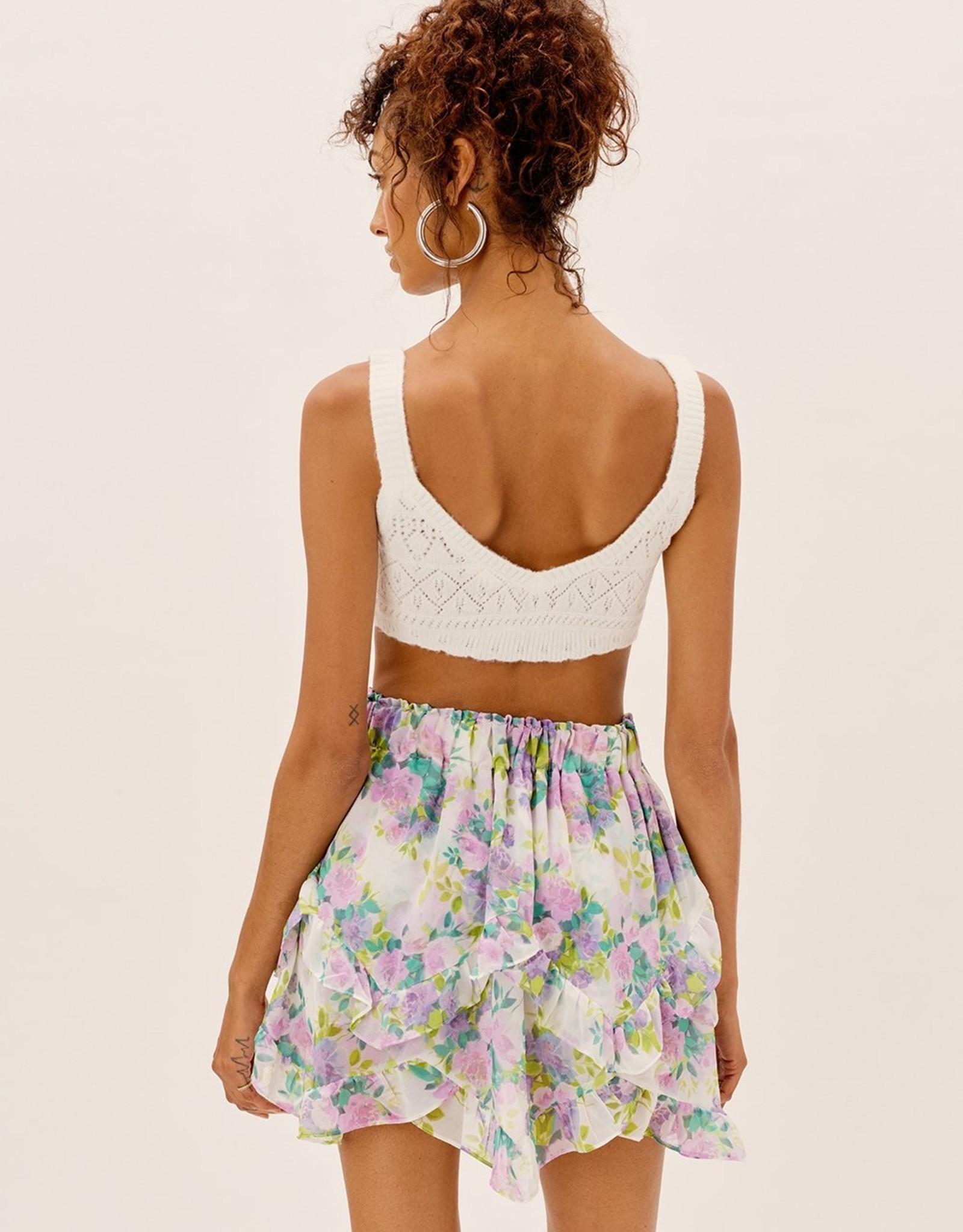 For Love and Lemons For Love and Lemons Evie Mini Skirt