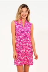 Jude Connally Jude Connally Kristen Mandarin Collar Dress
