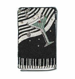 Mary Frances Mary Frances Phone Crossbody Bag PIANO BAR Martini