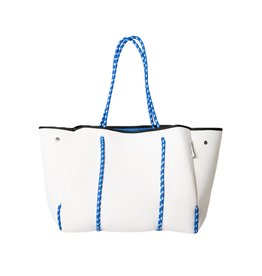 PopUps Everyday Tote Bag White Blues