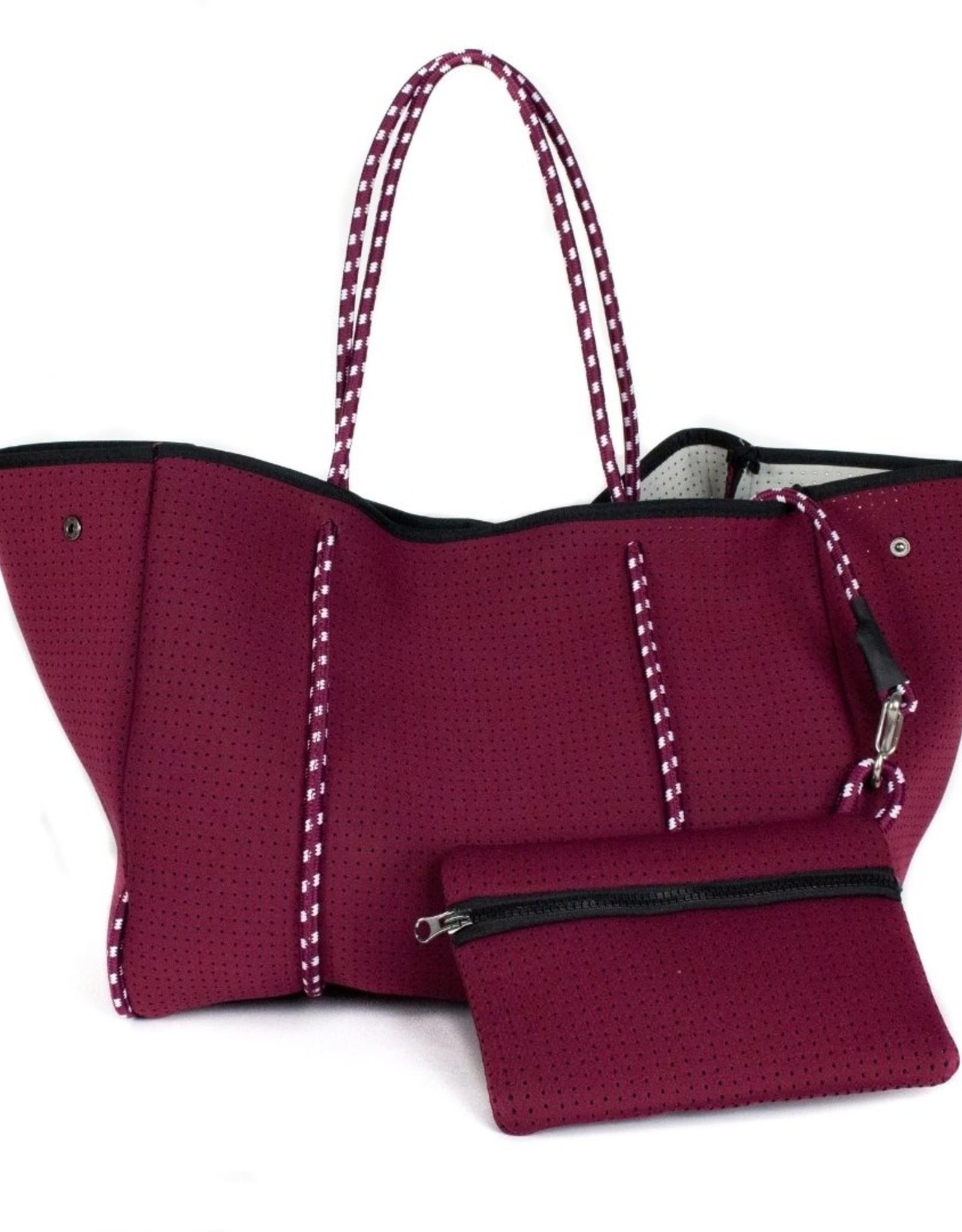 PopUps Everyday Tote Bag Burgundy