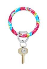 Big O Key Rings / Oventure Big O Key Rings Silicone Tie Dye Rainbow