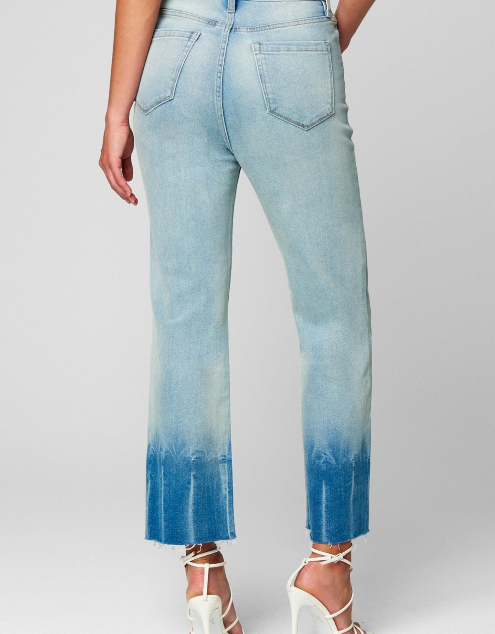 BlankNYC BlankNYC  Baxter Smile and Wave Tie Dye Hem Jeans