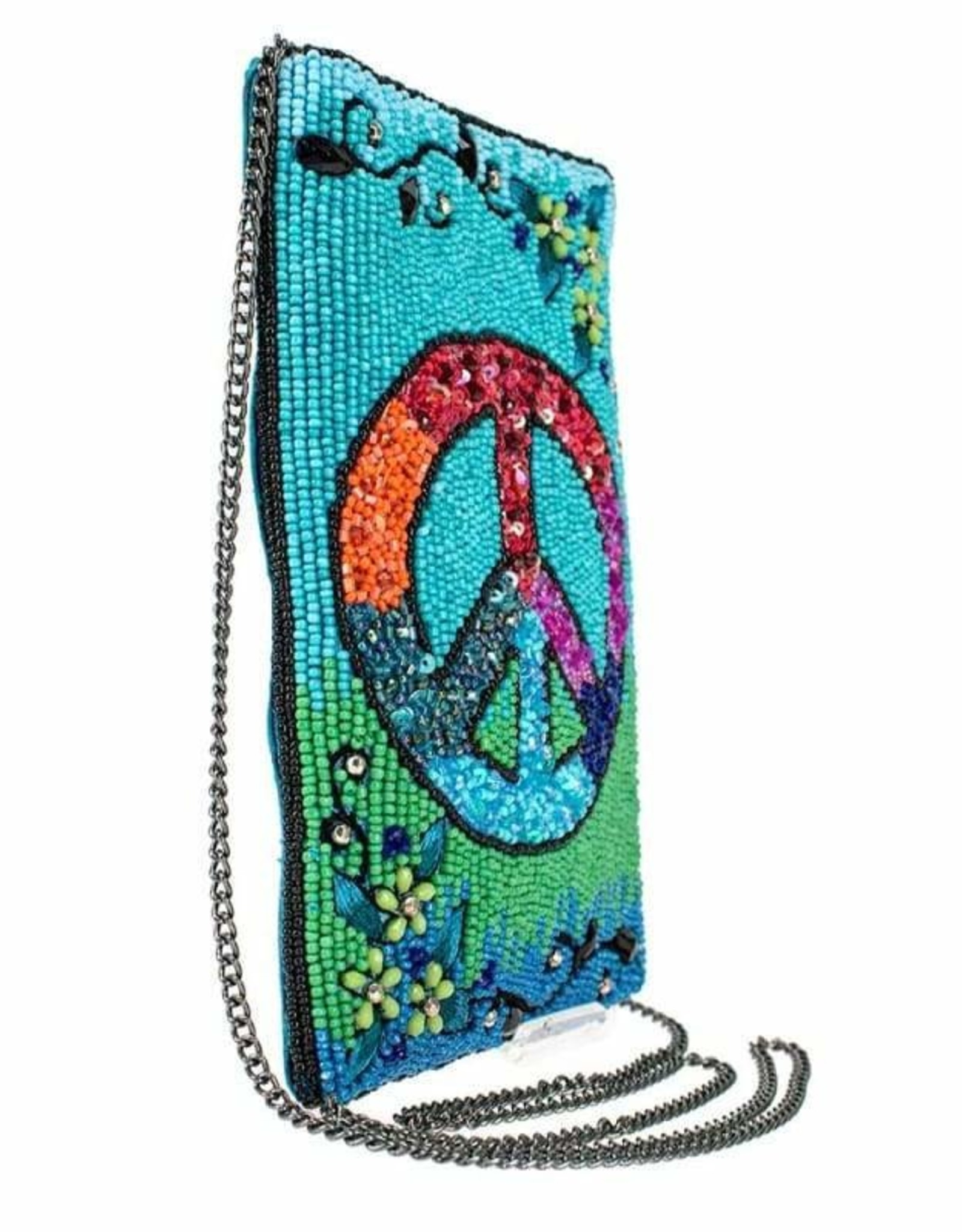 Mary Frances Mary Frances Phone Crossbody Bag INNER PEACE