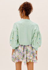 For Love and Lemons For Love and Lemons Sutton Mint Cardigan