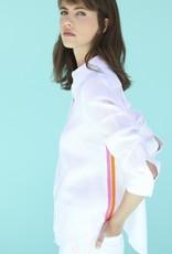 VilaGallo VilaGallo Mafalda Shirt White Linen/Side Stripes
