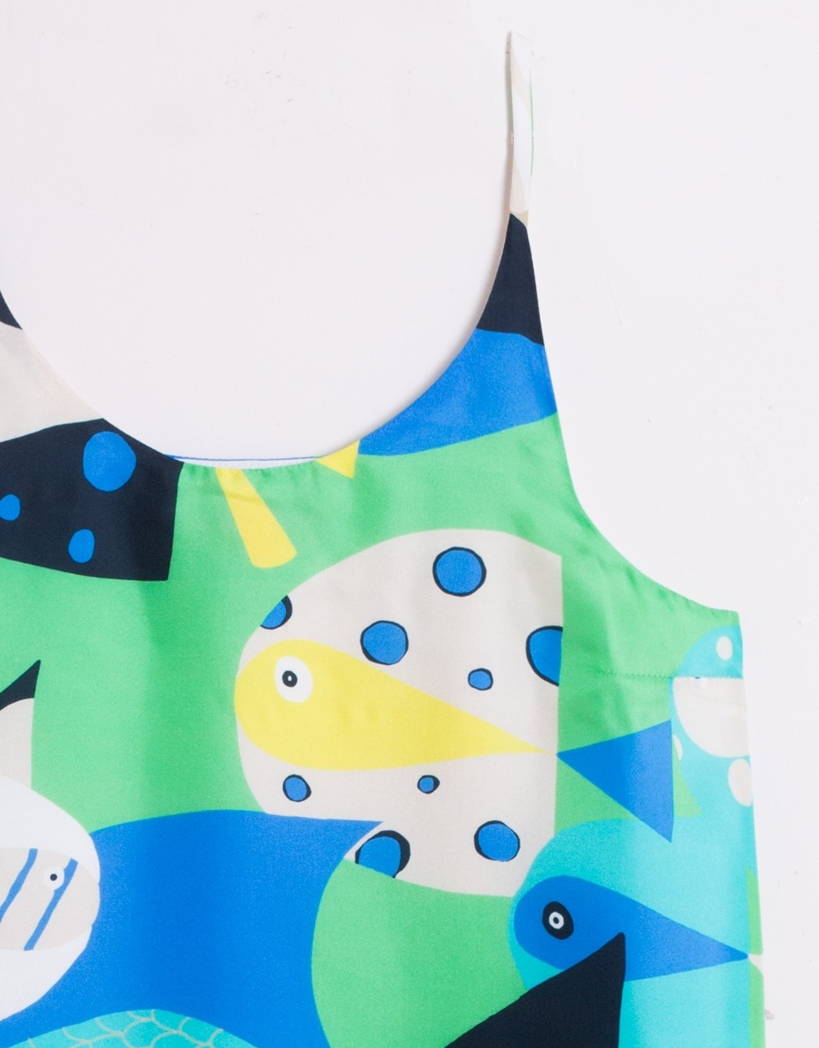 VilaGallo VilaGallo Gina Dress Aquarium Silk