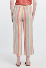 Nic+Zoe Nic+Zoe Sweetclover Pant ORANGE Pastel Stripes