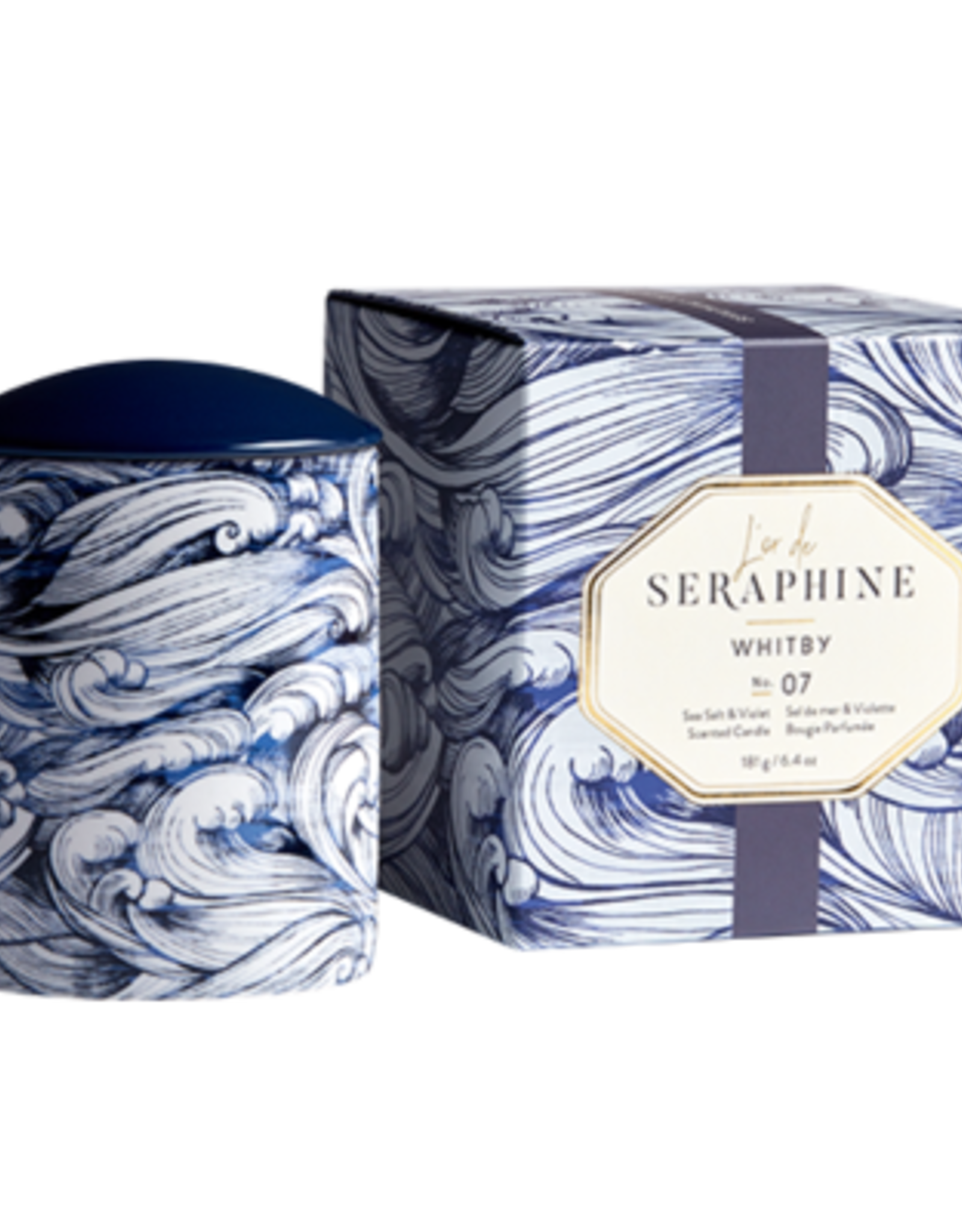 L'or de Seraphine L'or de Seraphine Large Jar Candle  WHITBY