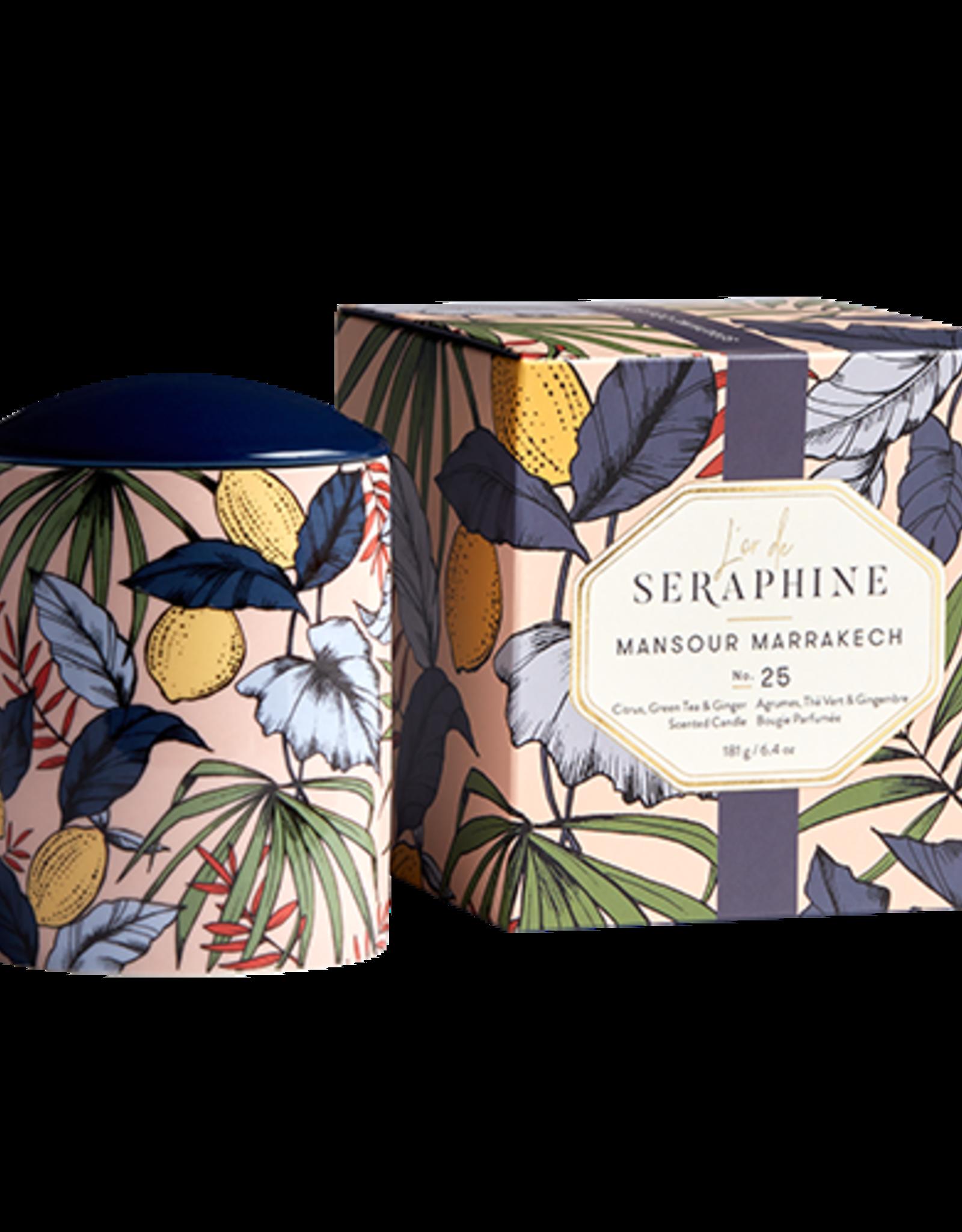 L'or de Seraphine L'or de Seraphine Medium Jar Candle MANSOUR MARRAKECH