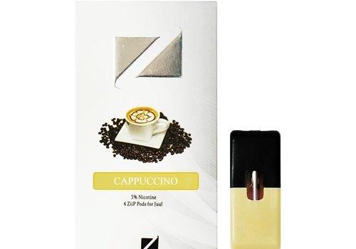 Ziip 4 pack Ziip Cappuccino 5% 1.0ml