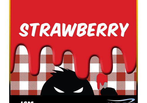 Jam Monster Strawberry Jam 100ml