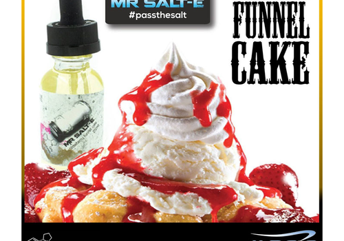 Mr. Salt-E Strawberry Funnel Cake 30ml