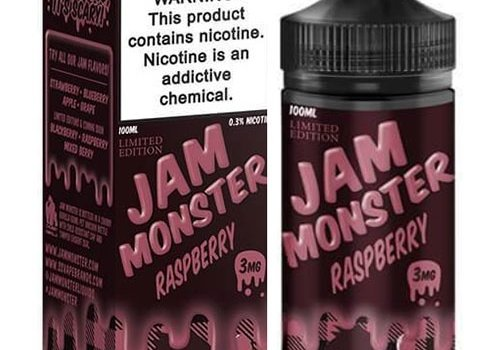 Jam Monster Raspberry Jam 100ml
