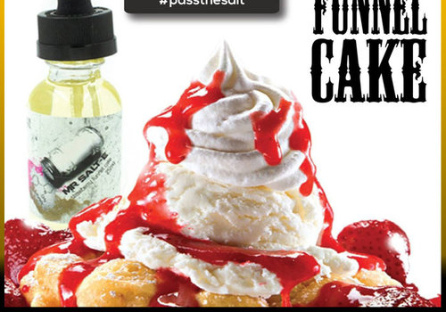 Mr. Salt-E Strawberry Funnel Cake 30ml 45mg