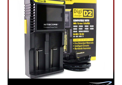 Nitecore Nitecore Intellicharger D2 LCD Battery Charger