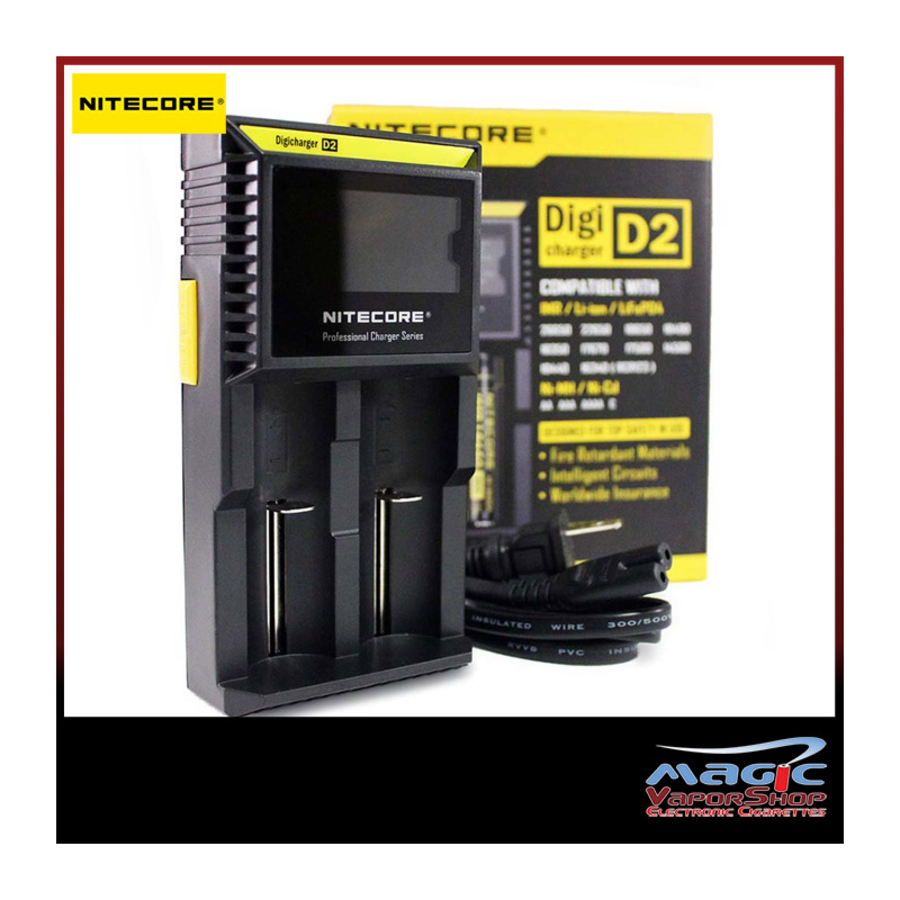Nitecore Intelli D2 LCD Batt Charger
