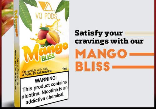 VQ 4 pack VQ Mango 5% 1ml