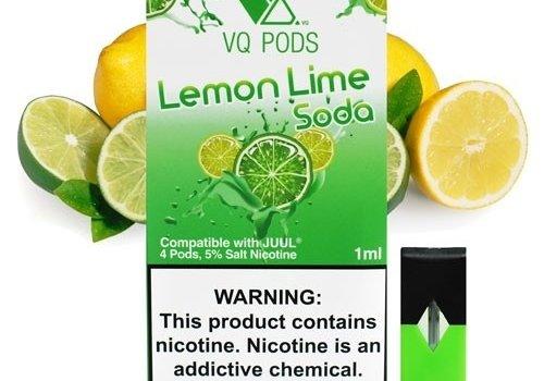 VQ 4 pack VQ Lemon Lime Soda 5% 1ml