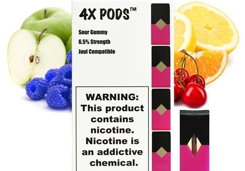 4X 4 pack 4x Sour Gummy 6.5% 1ml