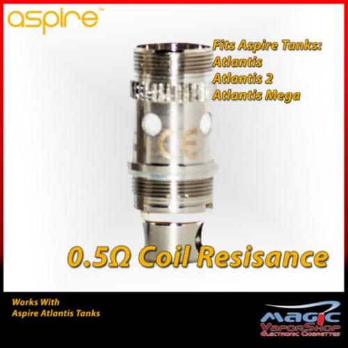 Aspire Atlantis Coil 0.5ohm
