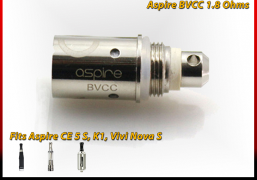 Aspire General BVC Coil 1.8ohm