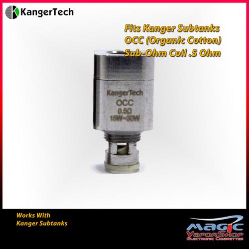 KangerTech Subtank Vertical OCC Coil 0.5ohm