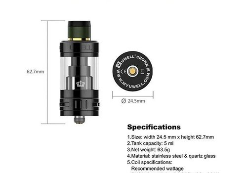 Uwell Crown 3 Tank 5ml