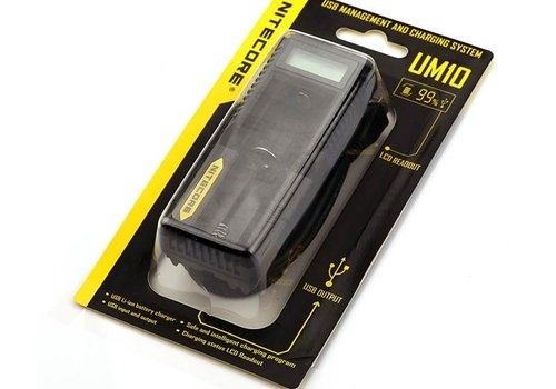 Nitecore Nitecore Intellicharger UM10 LCD Battery Charger