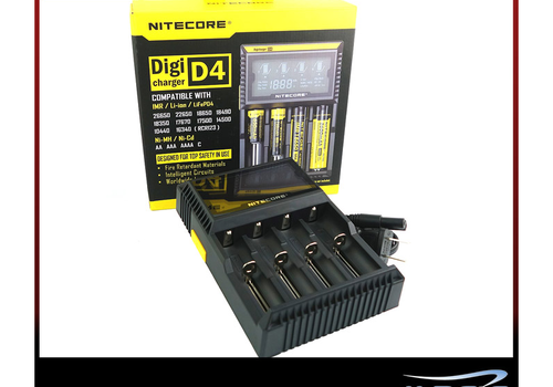Nitecore Nitecore Intellicharger D4 LCD Battery Charger