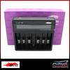 Efest LUC V6 6 Bay LCD Battery Charger