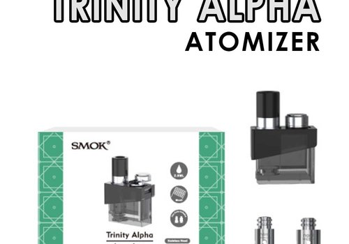 SMOK Trinity Alpha Pod and Mesh 0.6/0.8 coils