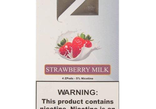 Ziip 4 pack Ziip Strawberry Milk 5% 1.0ml