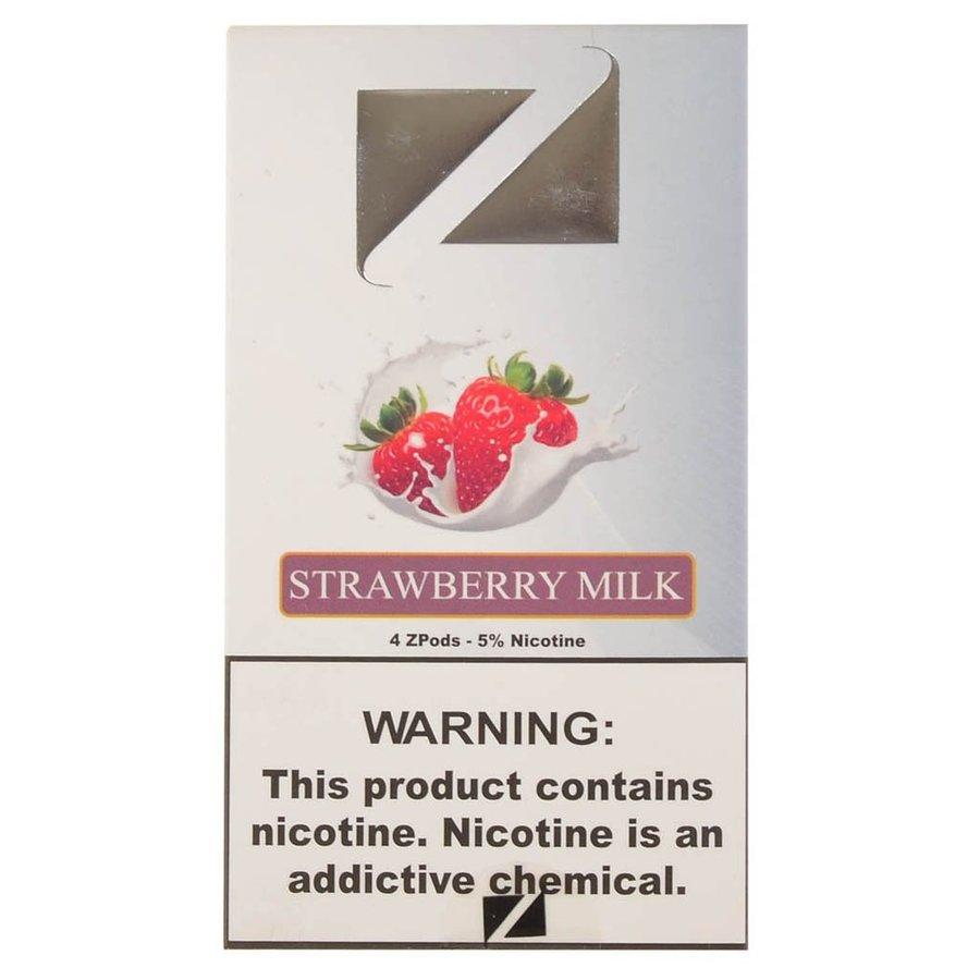 4 pack Ziip Strawberry Milk 5% 1.0ml