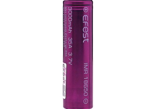 Efest Efest 3000mAh With included safety case