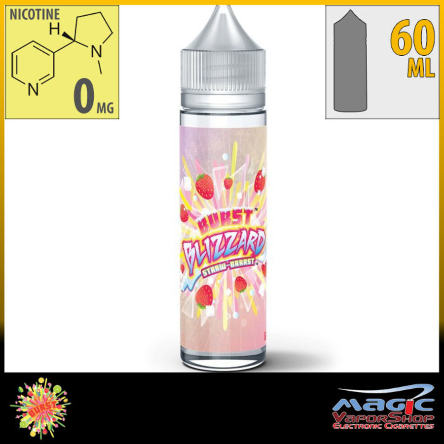 Blizzard Strawberry 60ml