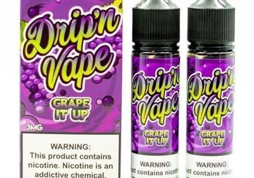 Drip N Vape Grape It Up 120ml 03mg