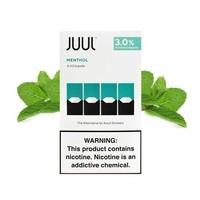 4 pack Juul Menthol 3% 0.7ml
