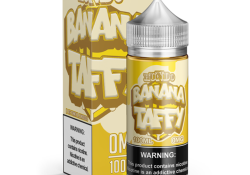 Hundo Ejuice Banana Taffy 100ml