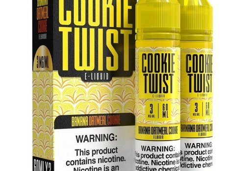 TWIST Banana Oatmeal Cookie 120ml